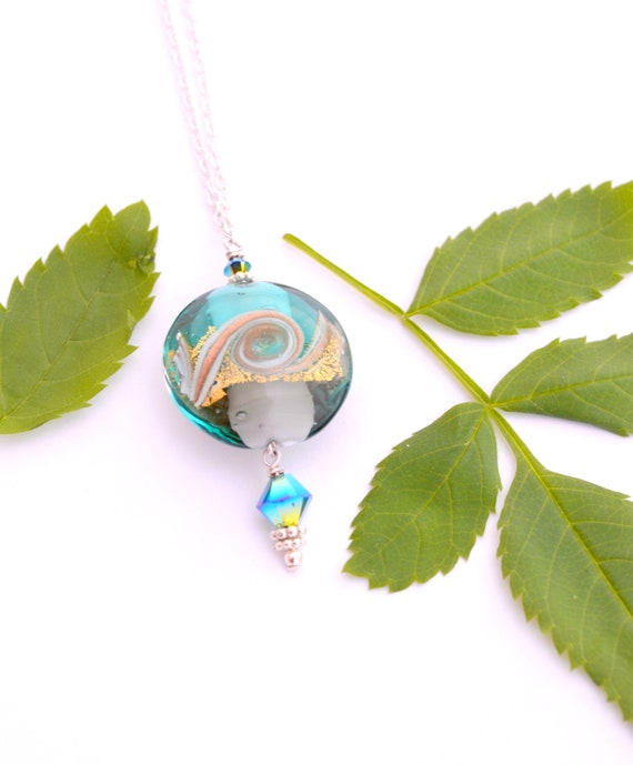 Circle Ocean Necklace