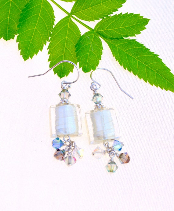 Handblown Murano Glass Earrings