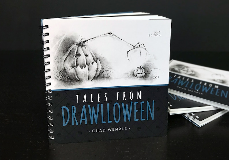 Tales from Drawlloween 2018 Edition  Book image 0