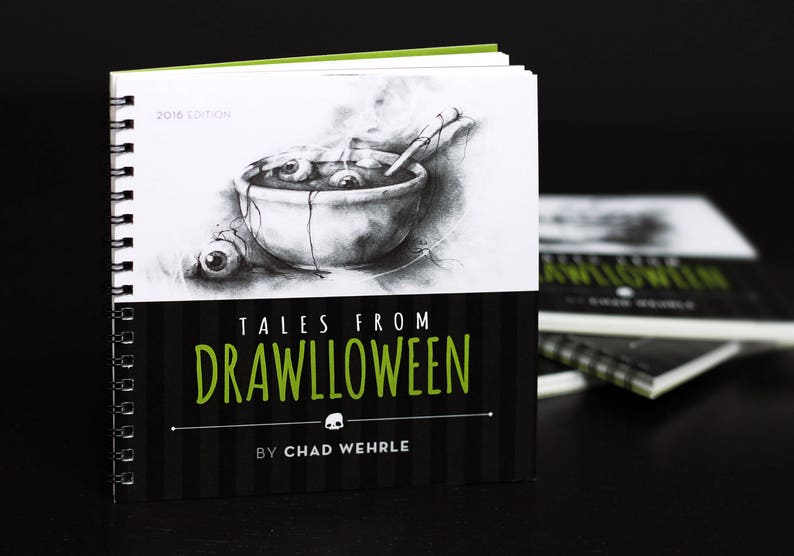 Tales from Drawlloween 2016 Edition  Book image 0