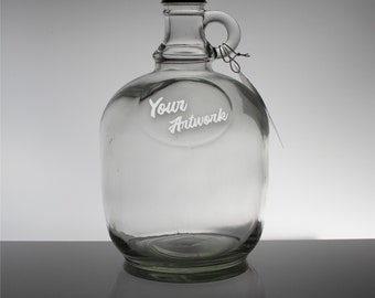 Personalized Beer Growler - 1.6L (Half Gallon)