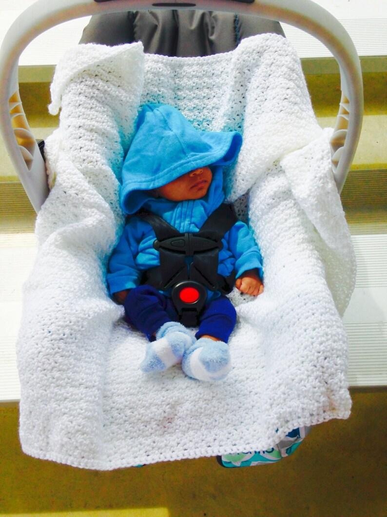 c3d79e684f4a Crochet Car Seat BlanketCrochet Infant Seat BlanketNewborn