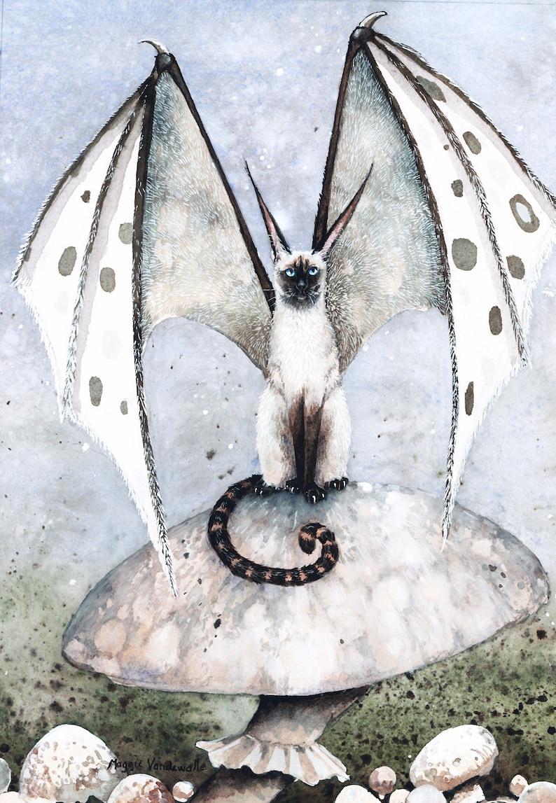 Carte de vœux Shroom Queen par Maggie Vandewalle 5 x image 0