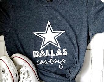 Dallas cowboys T-shirt   womens short sleeve 122b9e30b