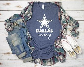 62b1c030b1a Dallas cowboys T-shirt// womens short sleeve