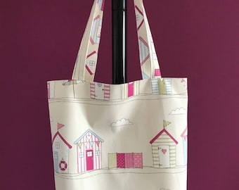 Canvas Tote Bag with Long Handles