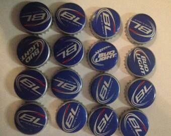 100 budlight bottle caps