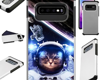 Four Meme Cats of the Apocalypse Samsung S10 Case