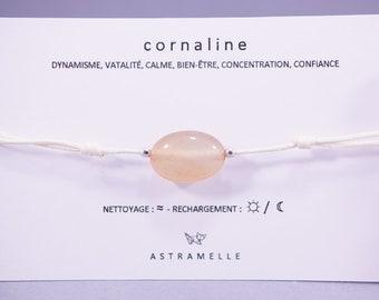 Greed carnelian bracelet