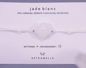 White greed Jade bracelet
