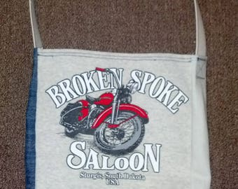 Broken Spoke Saloon T-shirt bag