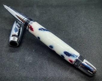 Patriotical Bound Areté Ultra Fine Tip Fountain Pen
