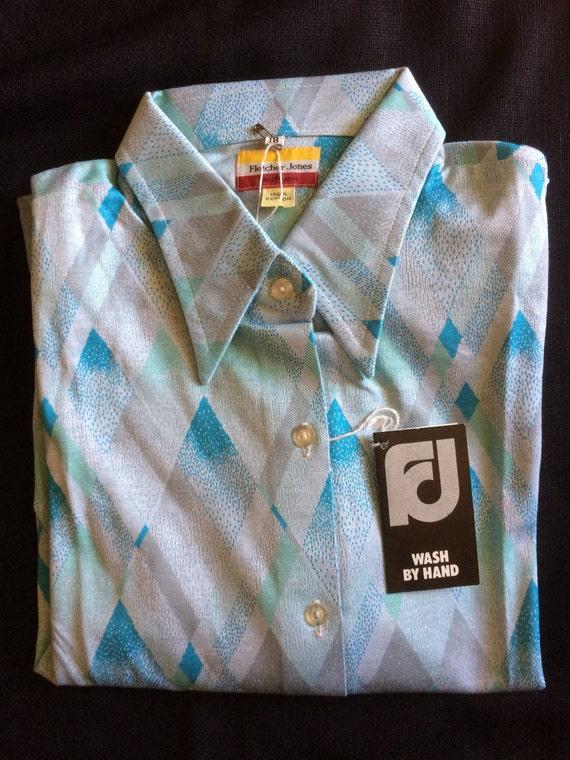 Fletcher Jones Long Sleeve Fine Knitted Shirts / … - image 7