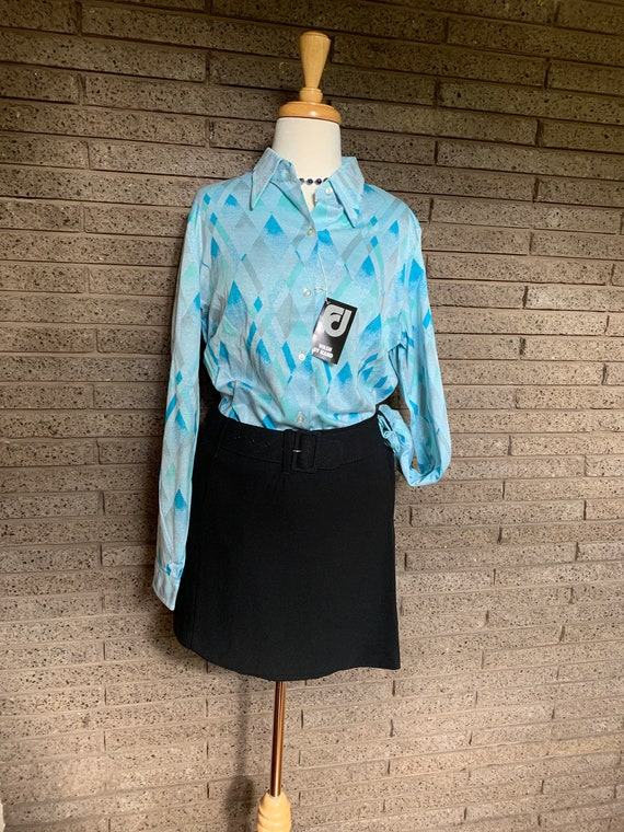 Fletcher Jones Long Sleeve Fine Knitted Shirts / … - image 1