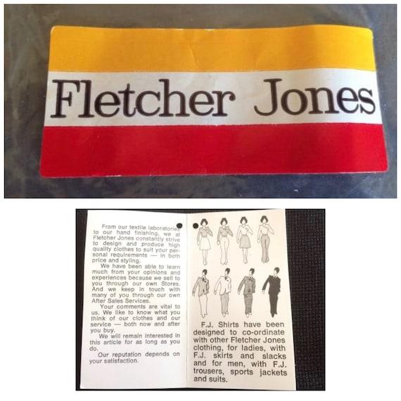 Fletcher Jones Long Sleeve Fine Knitted Shirts / … - image 9