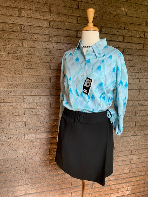 Fletcher Jones Long Sleeve Fine Knitted Shirts / … - image 2