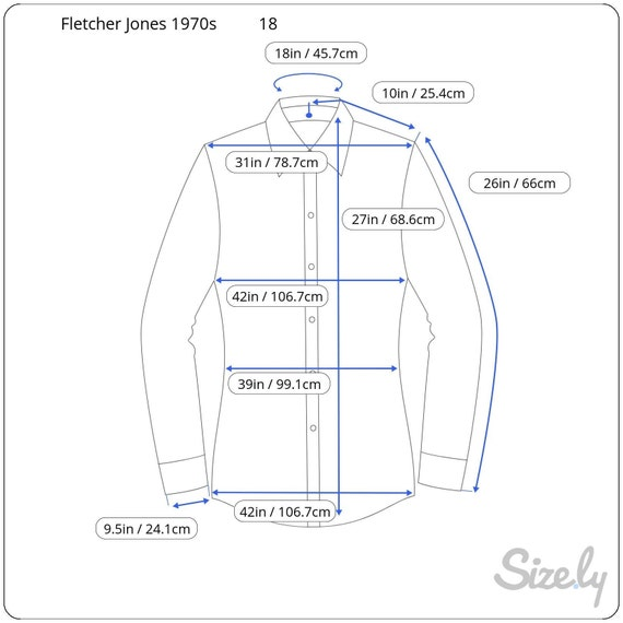Fletcher Jones Long Sleeve Fine Knitted Shirts / … - image 10