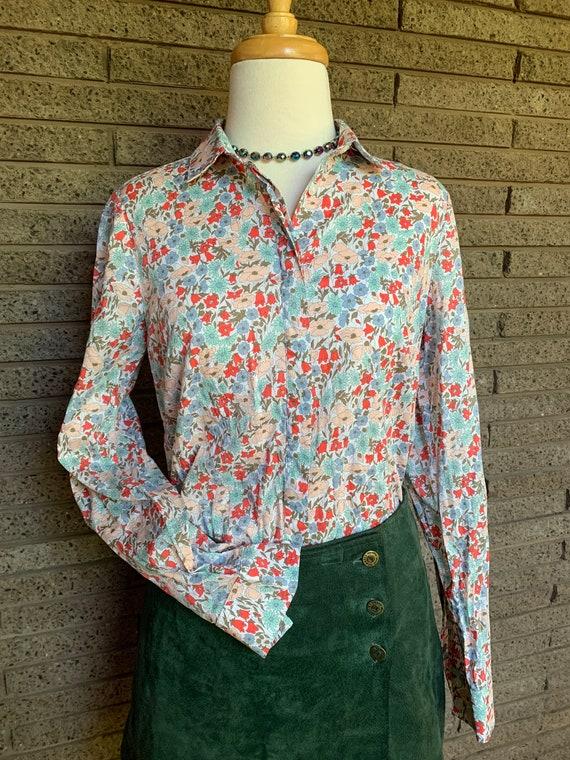Vintage 1990s Sportscraft Liberty Polished Cotton