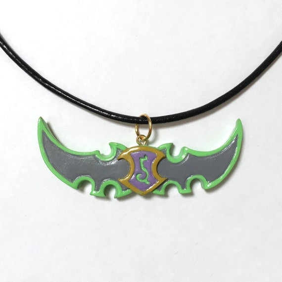 World Of Warcraft Demon Hunter Ketting Hunter Klasse Logo Etsy