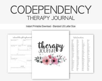 Therapy Worksheet Etsy