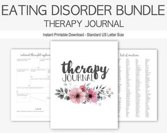 Anorexia Therapy Journal: Mental Health Eating Disorders