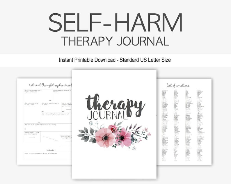 picture about Wreck This Journal Printable Pages called Self-Damage Cure Magazine: Psychological Conditioning, Slicing, Burning, Melancholy, Stress and anxiety, Counseling, Fast Printable Down load