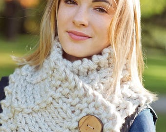Knitting Pattern - Scarf // Free Spirit
