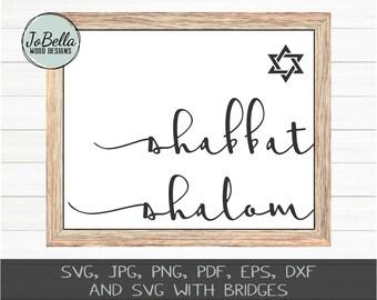 image regarding Shabbat Blessings Printable called Shabbat printable Etsy