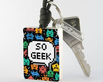 Porte-Clé ''So Geek''