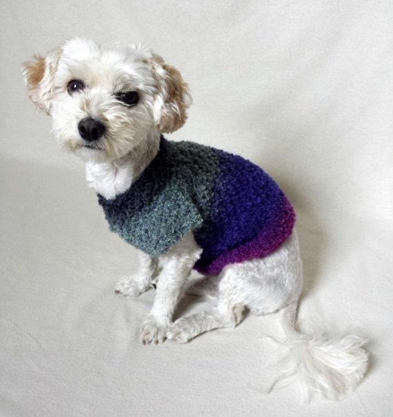 Welpen-Kleidung häkeln Hundepullover kleiner Hundeshirt Hund   Etsy