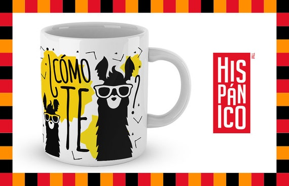 "Spanish Mug ""Cómo te llamas"""