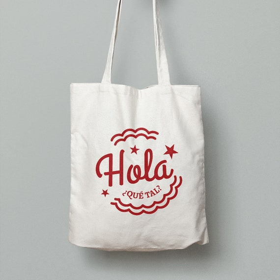 "Spanish Bag ""Hola"""