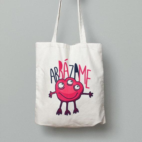 "Spanish Bag ""Abrázame"""