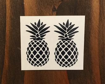 ba1253d7d Pineapple Tattoo / Temporary Pineapple Tattoo/ Tribal Pineapple /Custom  Tattoos