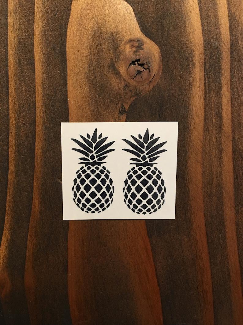 c9bb875ac Pineapple Tattoo / Temporary Pineapple Tattoo/ Tribal | Etsy