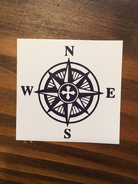 Kompas Tattoo Navy Tattoo Nautische Tattoos Tatoeages Etsy
