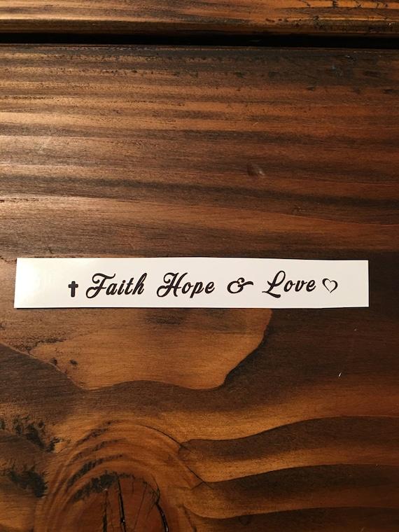 Wiara Nadzieja Miłość Tatuażereligijne Tatuażetatuaże Duchoweinspirujące Cytaty