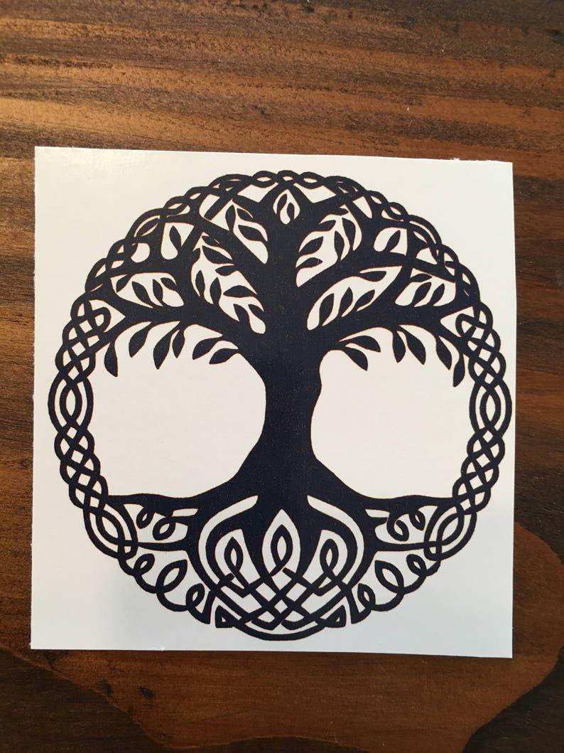 4c8624952 Tree of Life / Tree of Life Temporary Tattoo / Tribal /Custom | Etsy