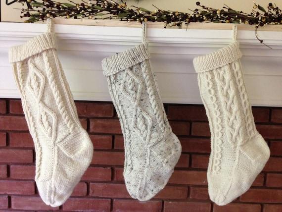 Cable Knit Christmas Stockings.Fisherman Knit Christmas Stockings Cable Knit Stockings Traditional Holiday Decor Fisherman Knit Stockings Traditional Christmas