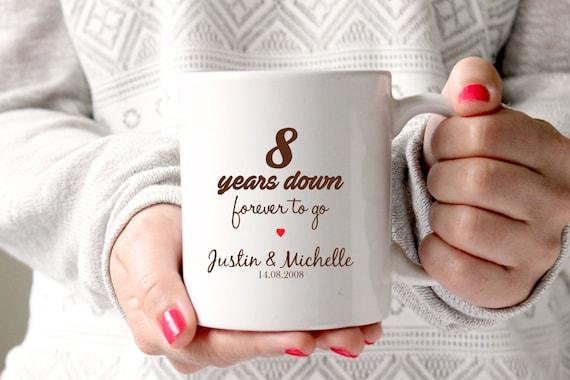 8 Jahrestagsgeschenk 8 Hochzeitstag 8 Geburtstag 8 Jahre Etsy