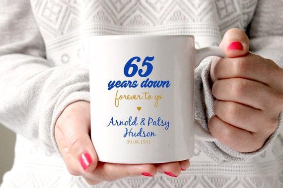 65th Anniversary Gift 65th Wedding Anniversary 65th Etsy