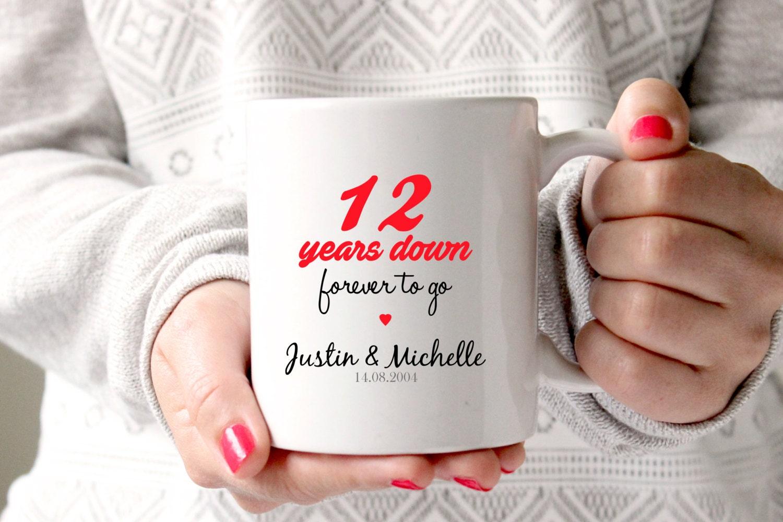 12 Year Wedding Anniversary Gifts: 12th Anniversary Gift 12th Wedding Anniversary 12th