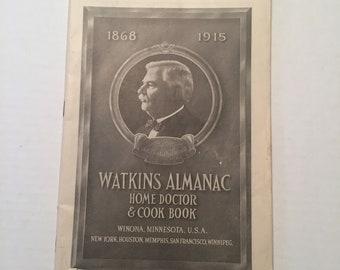 Vintage  Watkins Almanac