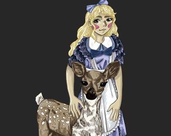 Alice - Alice in Wonderland Print
