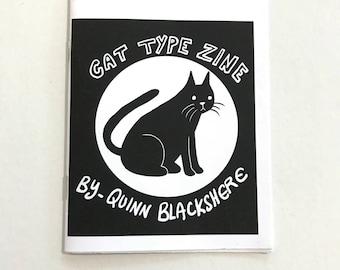 Cat Type Zine