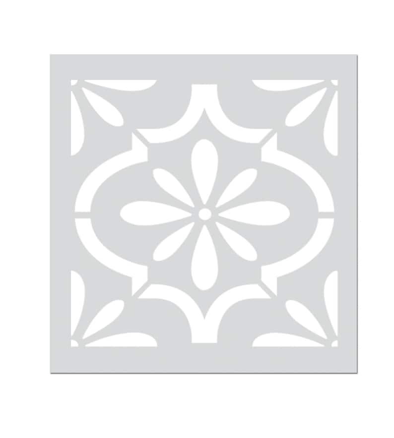 Dekorative Marokkanische Schablone für Wand Möbel Fliesen