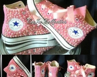 f2a96d641ff7 Pink Pearl Converse