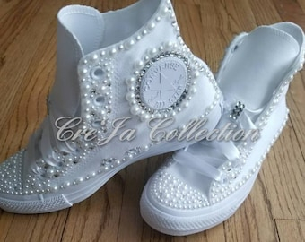 69e3b76629ce4b Womens Wedding Converse