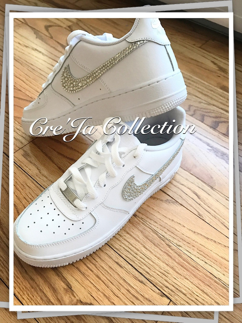 Bling Air Force Ones Bling Nike Custom Nike Shoes Custom  188f9a6c28