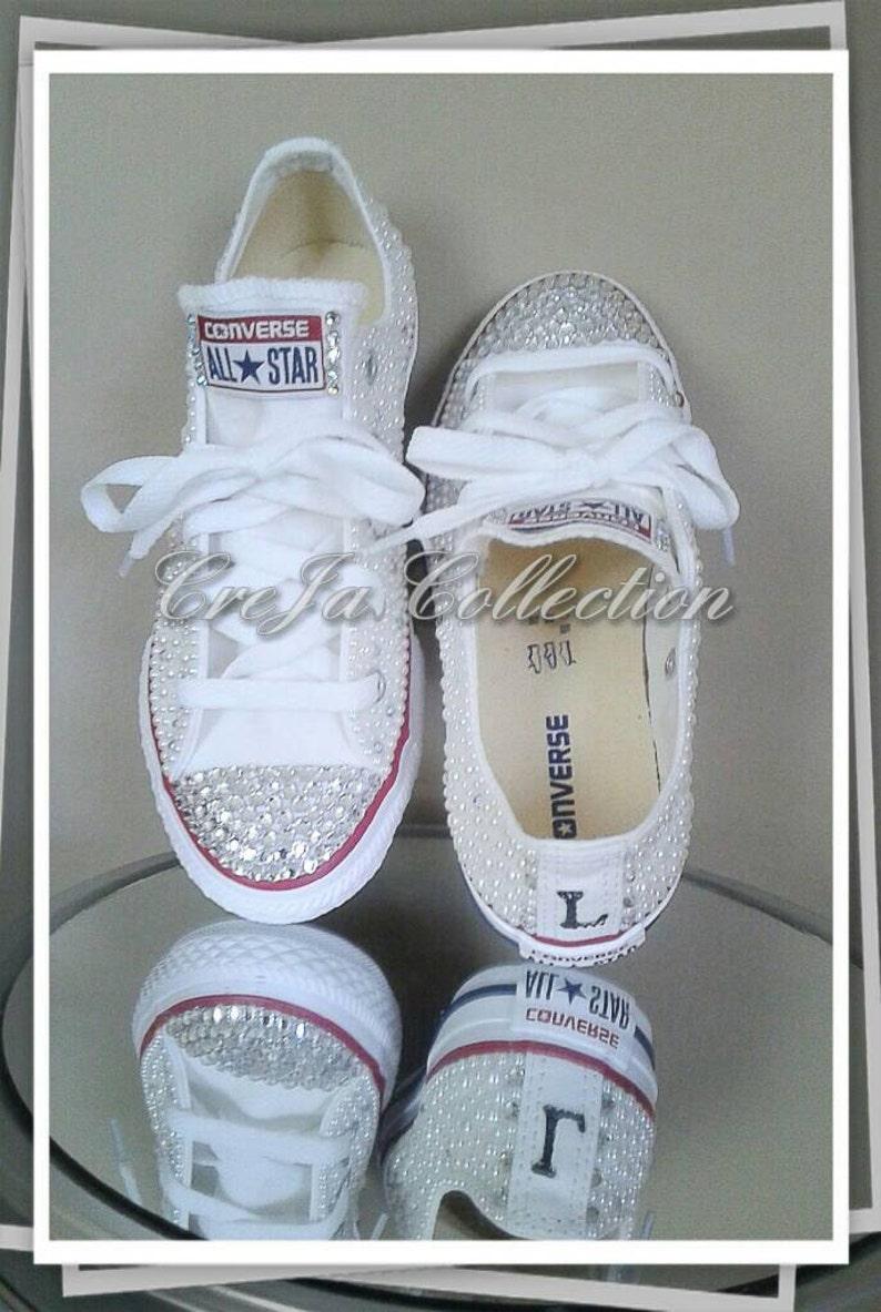 a8465eeae2e1b6 Pearl Converse Wedding Converse Wedding Shoes Bridal